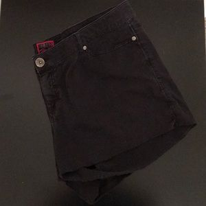 Torrid Black Cutoff Shorts. EUC